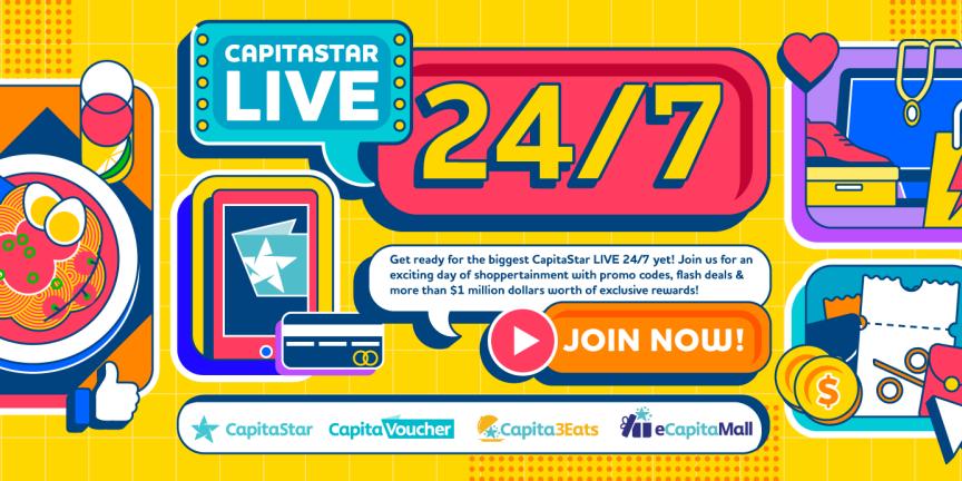 CapitaStar LIVE 24/7