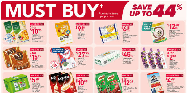 NTUC FairPrice Singapore Your Weekly Saver Promotions 1-7 Jul 2021