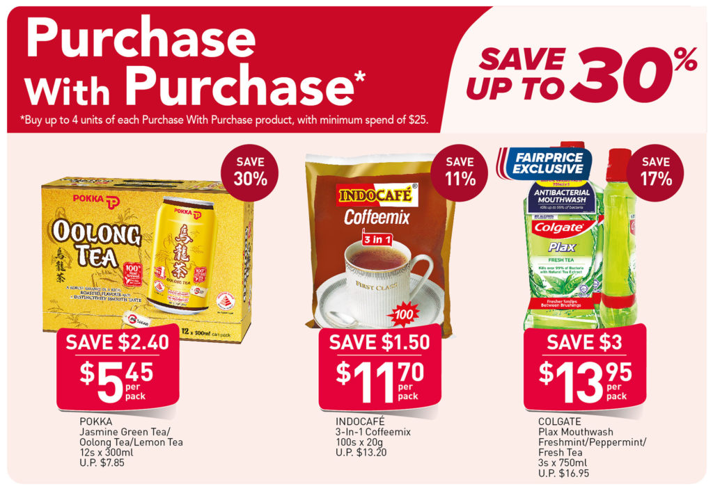 NTUC FairPrice Singapore Your Weekly Saver Promotions 1-7 Jul 2021   Why Not Deals 1