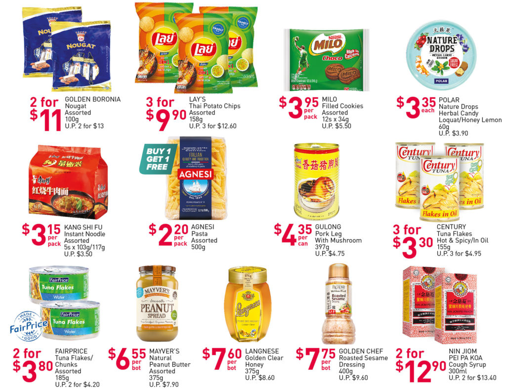 NTUC FairPrice Singapore Your Weekly Saver Promotions 1-7 Jul 2021   Why Not Deals 3
