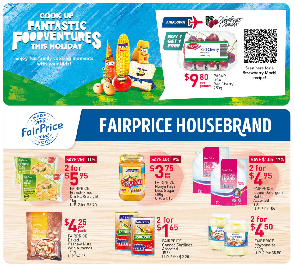 NTUC FairPrice Singapore Your Weekly Saver Promotions 1-7 Jul 2021   Why Not Deals 4