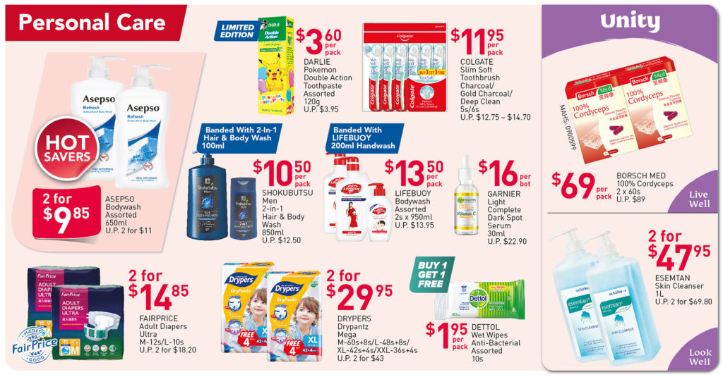 NTUC FairPrice Singapore Your Weekly Saver Promotions 1-7 Jul 2021   Why Not Deals 6