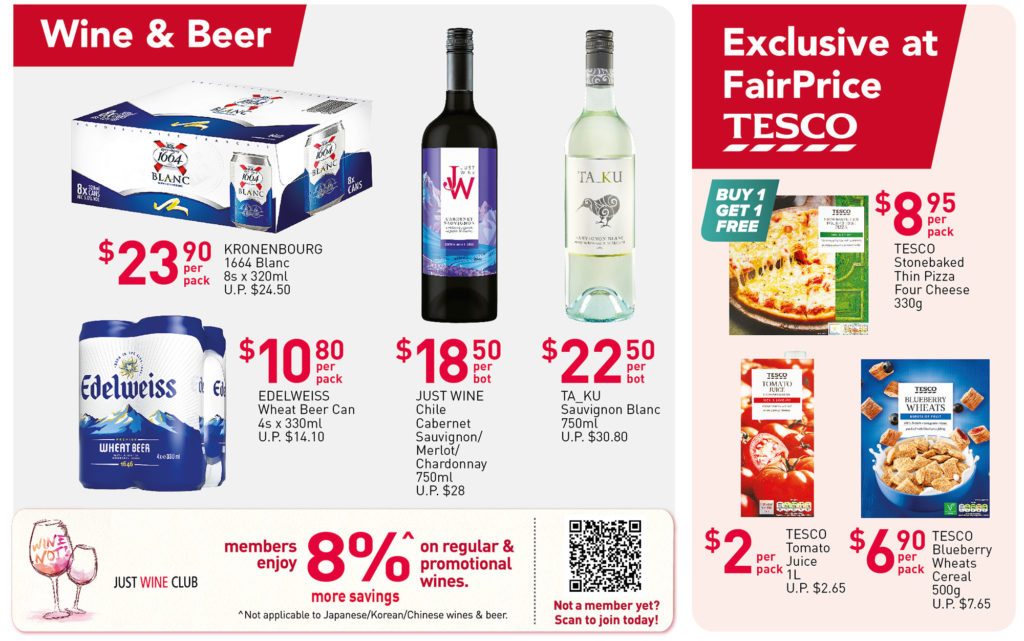 NTUC FairPrice Singapore Your Weekly Saver Promotions 1-7 Jul 2021   Why Not Deals 8