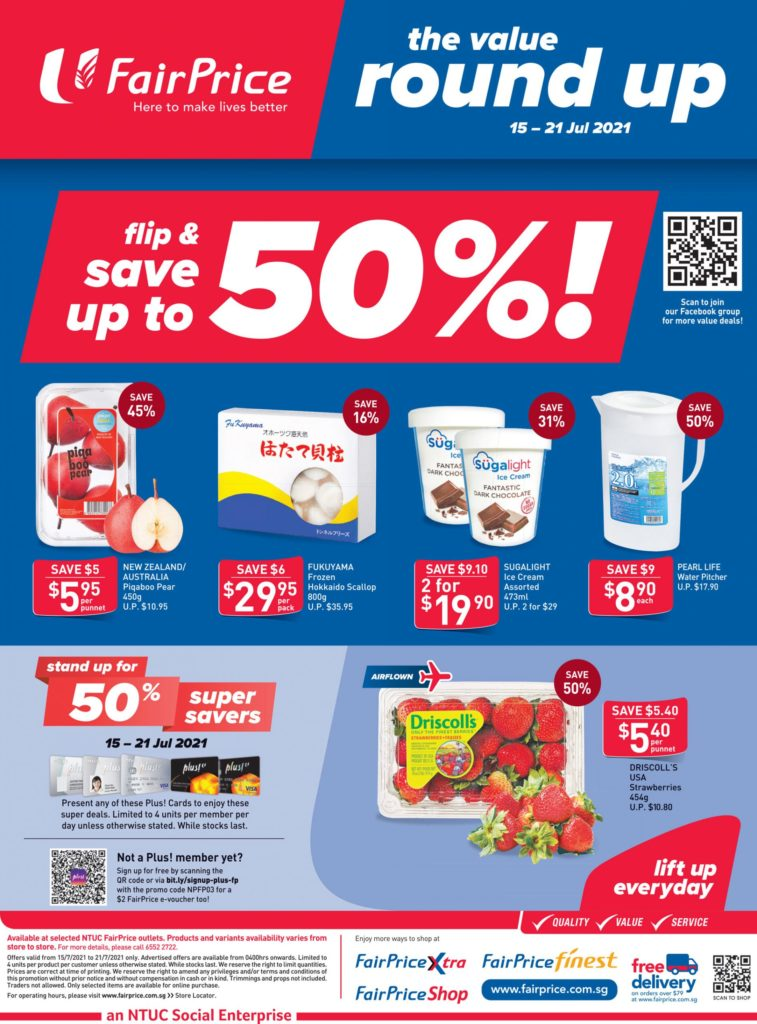 NTUC FairPrice Singapore Your Weekly Saver Promotions 15-21 Jul 2021 | Why Not Deals 9