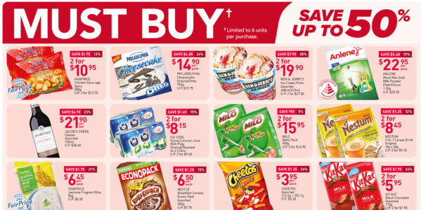 NTUC FairPrice Singapore Your Weekly Saver Promotions 15-21 Jul 2021