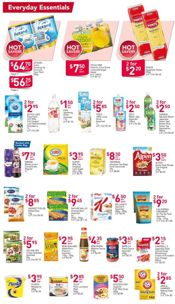 NTUC FairPrice Singapore Your Weekly Saver Promotions 15-21 Jul 2021 | Why Not Deals 2