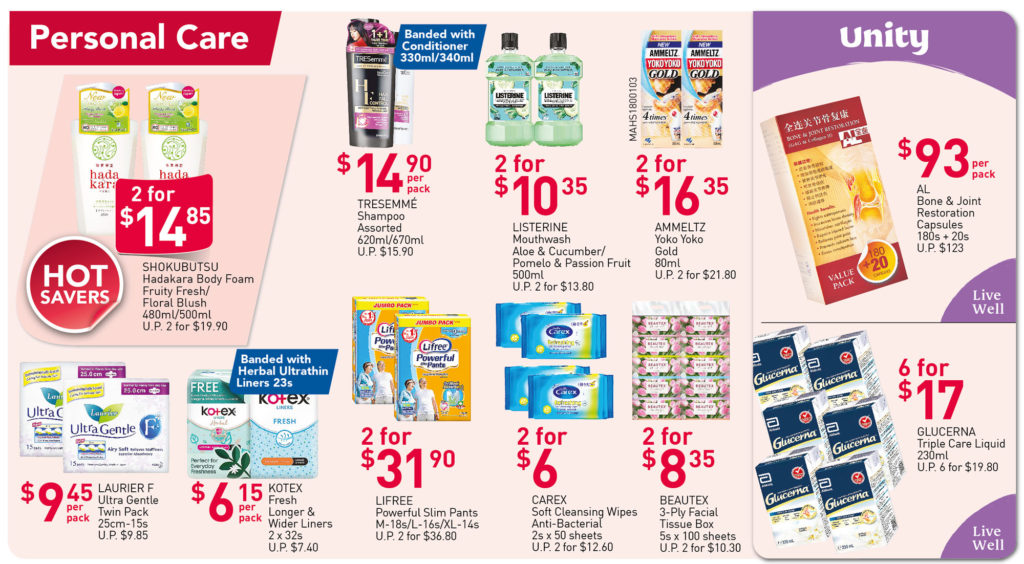 NTUC FairPrice Singapore Your Weekly Saver Promotions 15-21 Jul 2021 | Why Not Deals 6