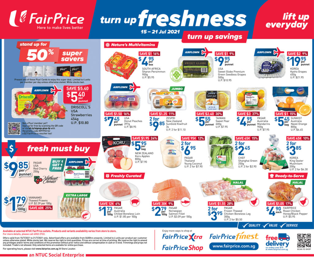 NTUC FairPrice Singapore Your Weekly Saver Promotions 15-21 Jul 2021 | Why Not Deals 8