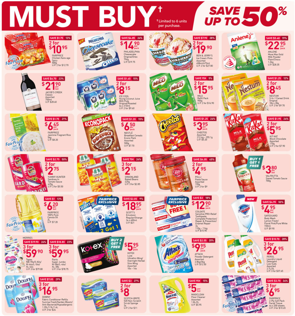NTUC FairPrice Singapore Your Weekly Saver Promotions 15-21 Jul 2021 | Why Not Deals