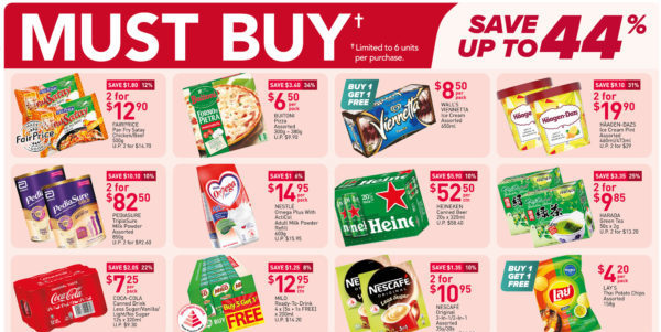 NTUC FairPrice Singapore Your Weekly Saver Promotions 22-28 Jul 2021