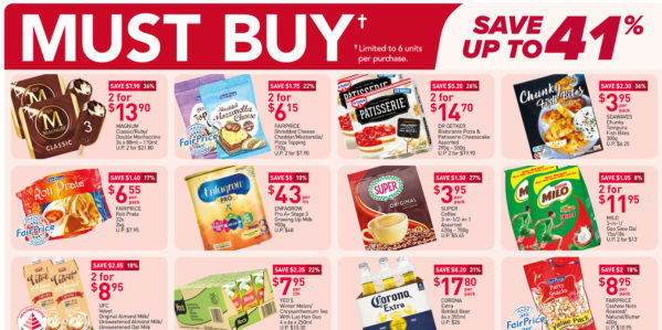 NTUC FairPrice Singapore Your Weekly Saver Promotions 29 Jul – 4 Aug 2021