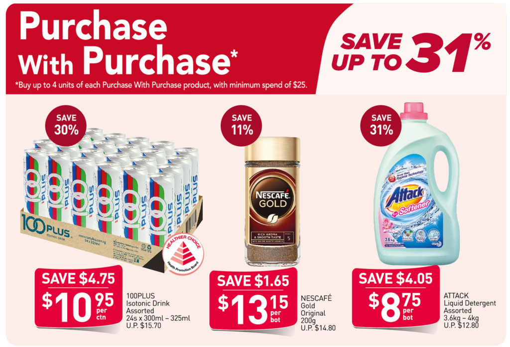 NTUC FairPrice Singapore Your Weekly Saver Promotions 29 Jul - 4 Aug 2021   Why Not Deals 1