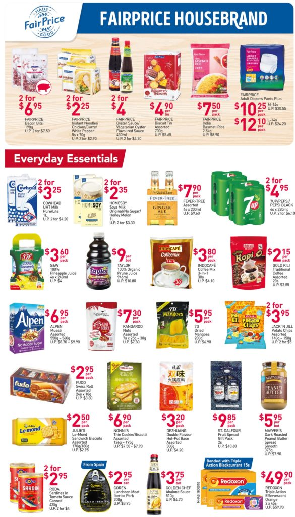 NTUC FairPrice Singapore Your Weekly Saver Promotions 29 Jul - 4 Aug 2021   Why Not Deals 2