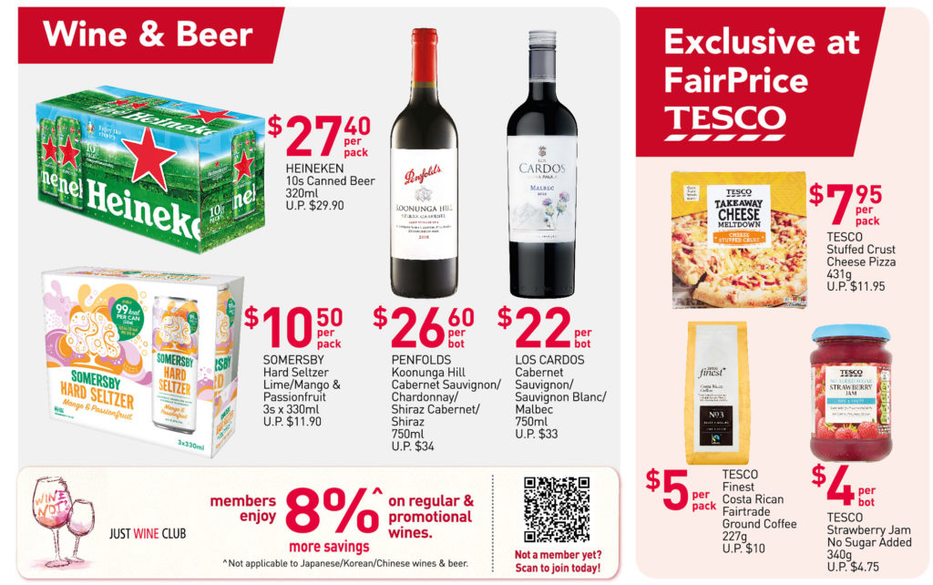 NTUC FairPrice Singapore Your Weekly Saver Promotions 29 Jul - 4 Aug 2021   Why Not Deals 4