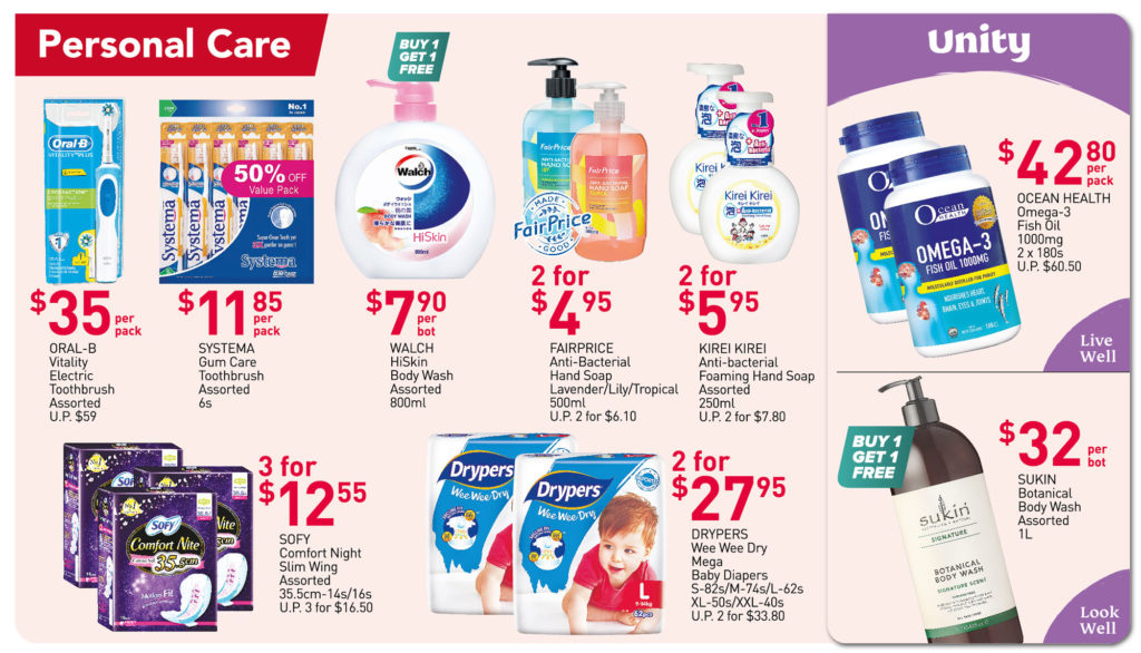NTUC FairPrice Singapore Your Weekly Saver Promotions 29 Jul - 4 Aug 2021   Why Not Deals 5