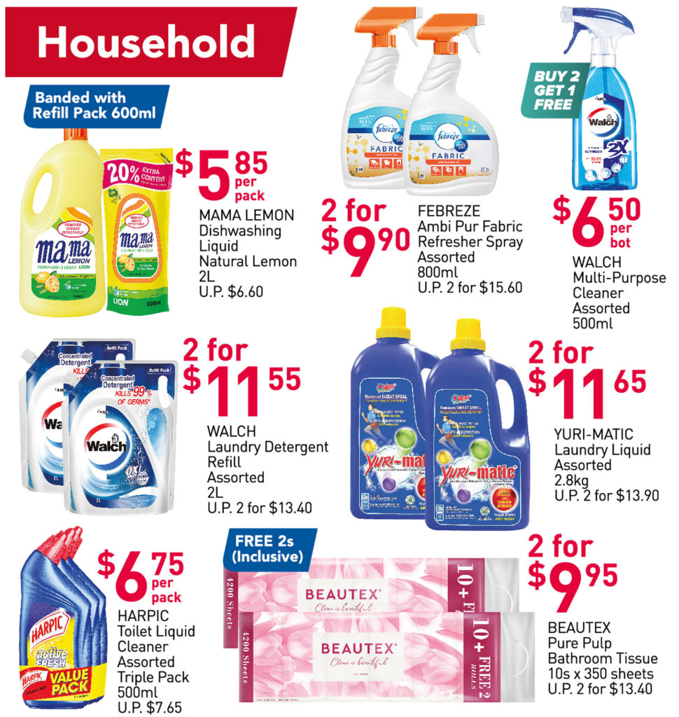 NTUC FairPrice Singapore Your Weekly Saver Promotions 29 Jul - 4 Aug 2021   Why Not Deals 6