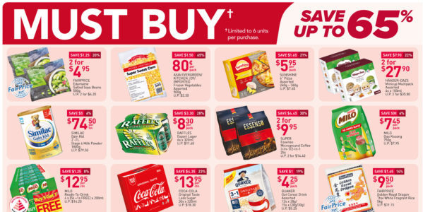 NTUC FairPrice Singapore Your Weekly Saver Promotions 8-14 Jul 2021