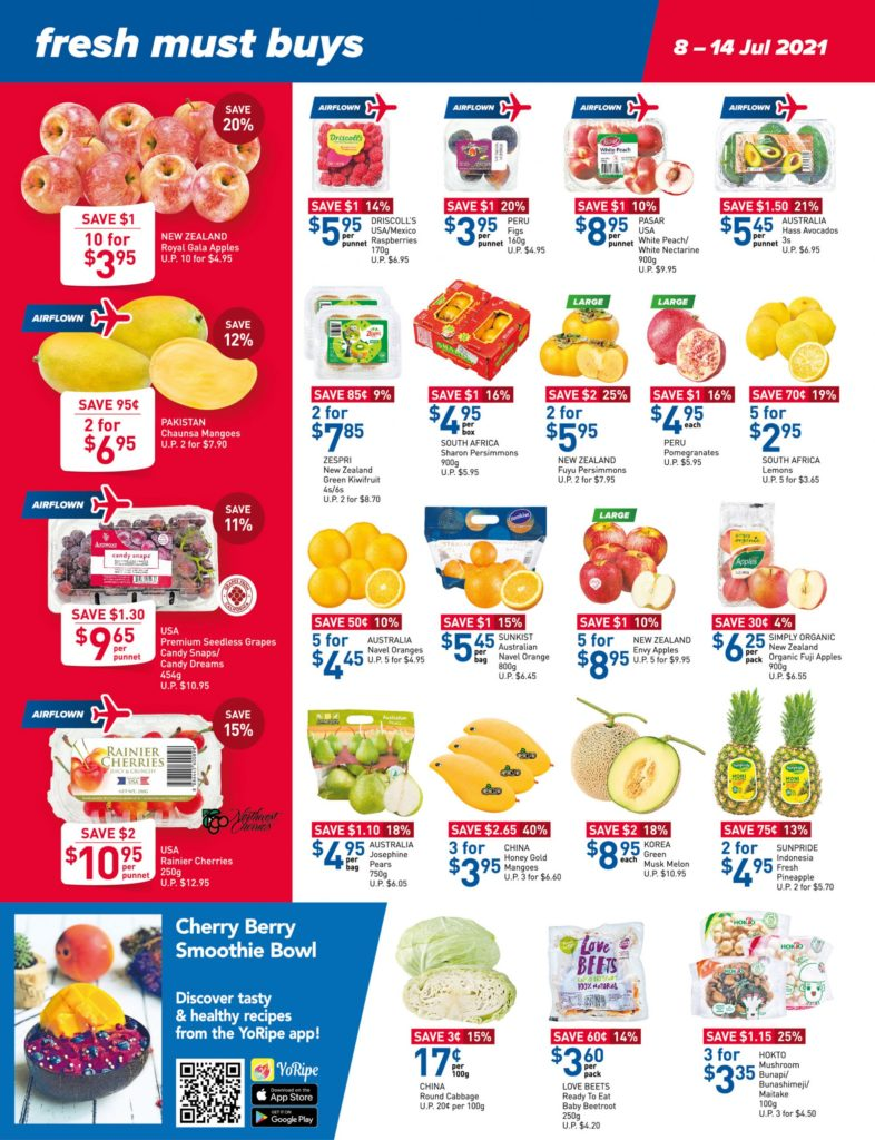 NTUC FairPrice Singapore Your Weekly Saver Promotions 8-14 Jul 2021 | Why Not Deals 8