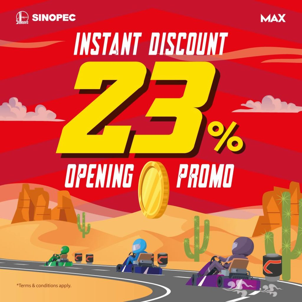 Sinopec Singapore Woodlands Station 23% Instant Discount Promotion Extended 9-12   Why Not Deals 1