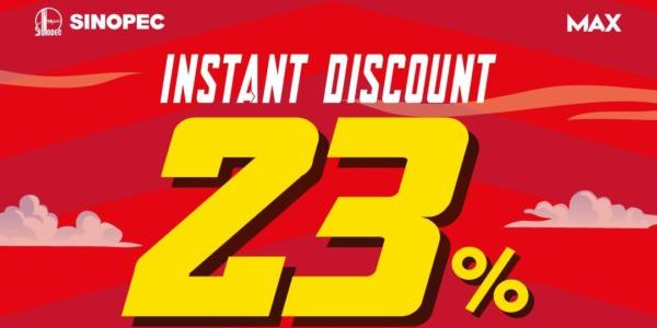 Sinopec Singapore Woodlands Station 23% Instant Discount Promotion Extended 9-12 Jul 2021