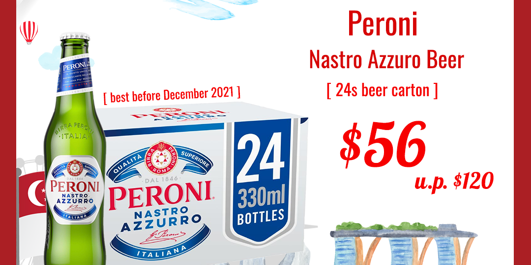 Peroni $56 National Day Sale