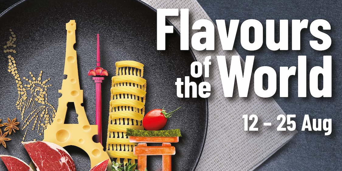 Taste the Flavours of The World at Cold Storage!