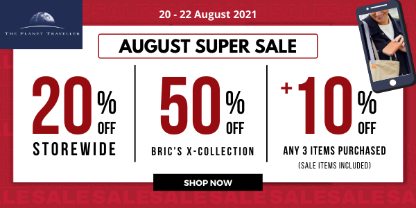 The Planet Traveller August Super Sale – 20 to 22 August