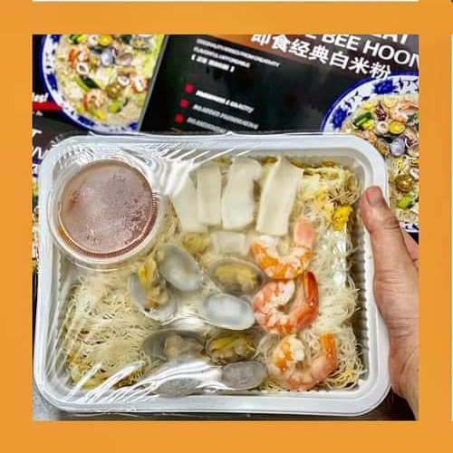 """New Product Launch-First in the World, First in Singapore Ready to Eat """"Original"""" White Bee Hoon 