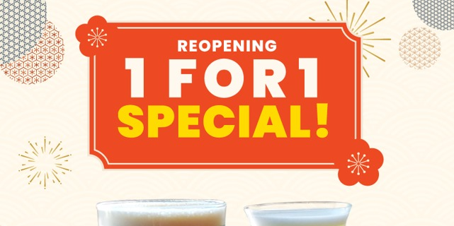 1-FOR-1 Nitro Brews at SUN with MOON Contemporary Japanese Dining & Cafe (Until 16 Sep 2021)