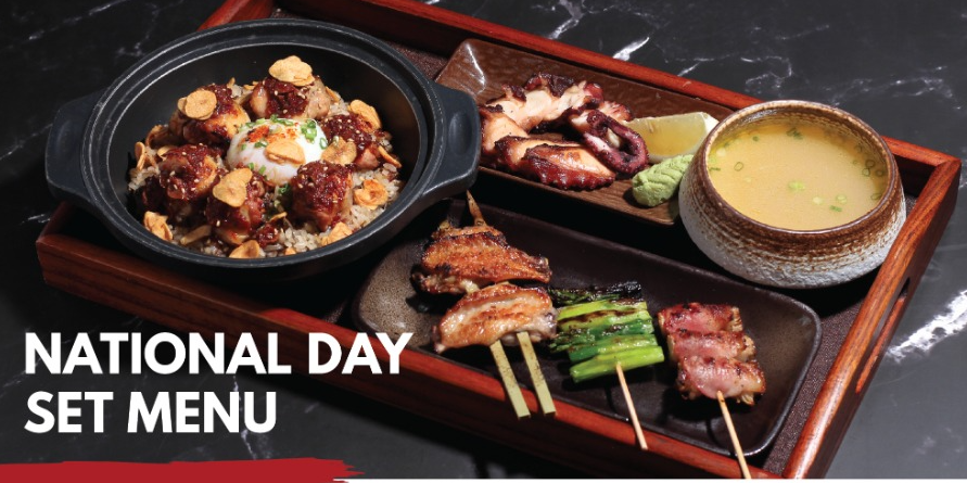 Celebrate National Day with Matsukiya's National Day Set Menu at $56!