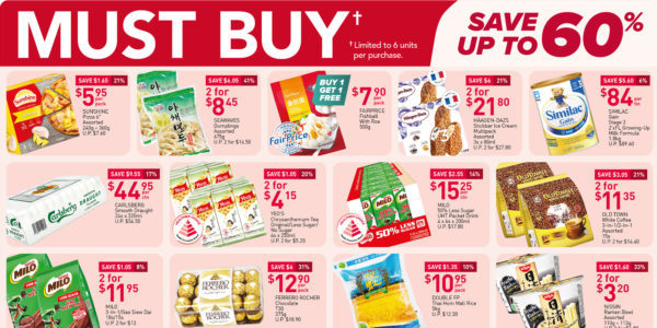 NTUC FairPrice Singapore Your Weekly Saver Promotions 12-18 Aug 2021
