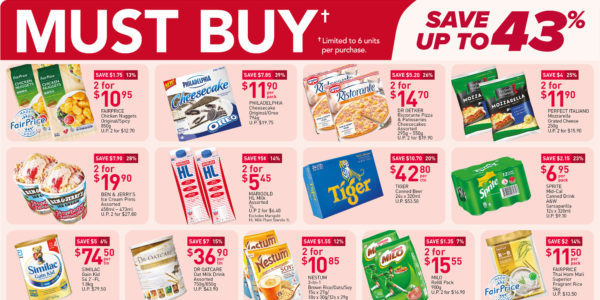 NTUC FairPrice Singapore Your Weekly Saver Promotions 19-25 Aug 2021