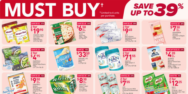 NTUC FairPrice Singapore Your Weekly Saver Promotions 26 Aug – 1 Sep 2021