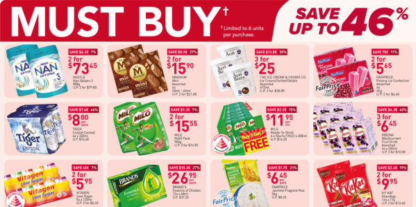 NTUC FairPrice Singapore Your Weekly Saver Promotions 5-11 Aug 2021