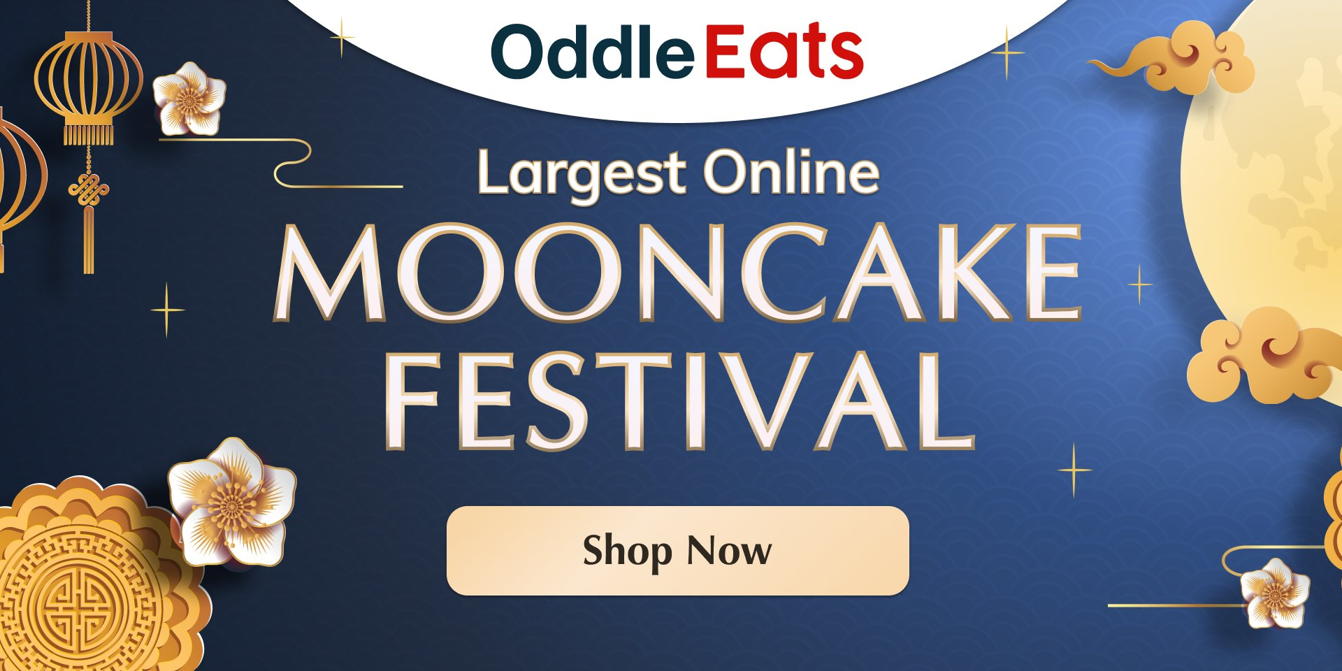 Check out Oddle Eats as they have the largest online mooncake festival in Singapore!