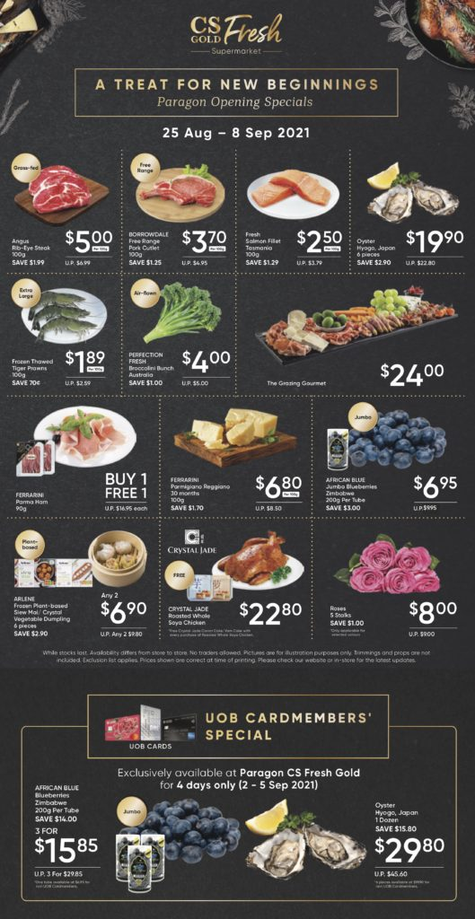 CS Fresh Gold Launches at Paragon! | Why Not Deals