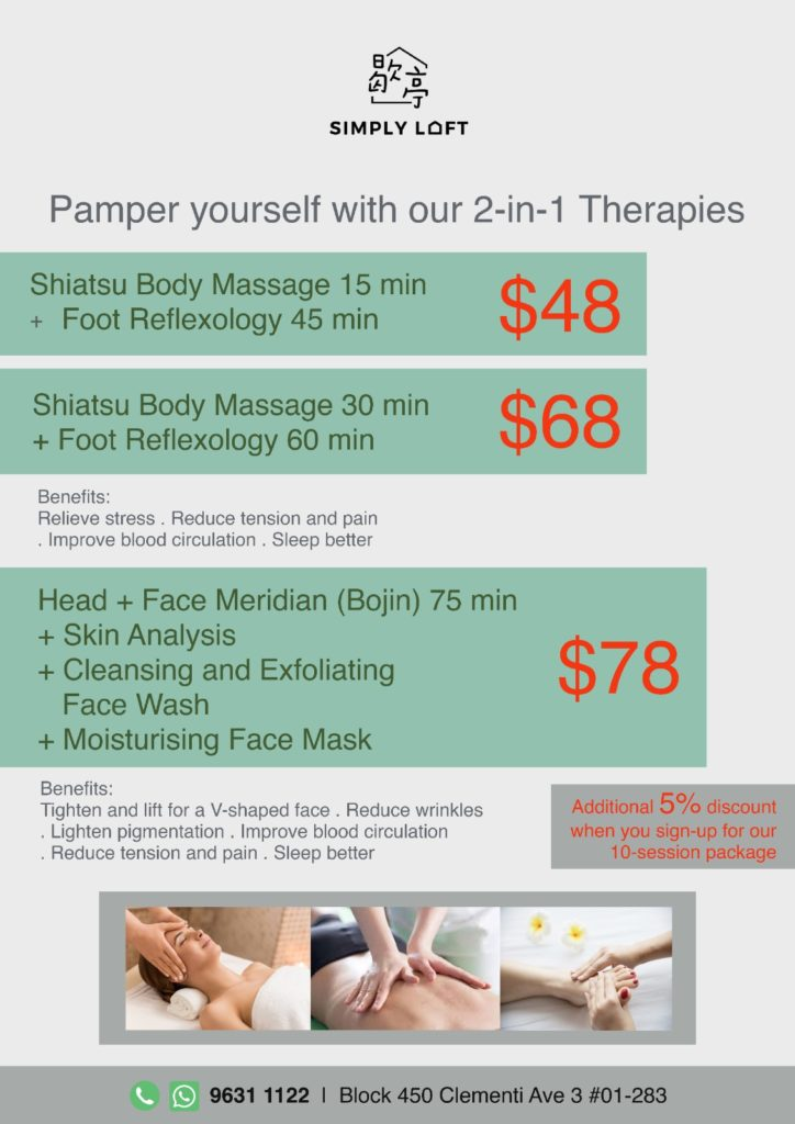 Pamper yourself with Simply Loft's 2-in-1 Therapies | Why Not Deals