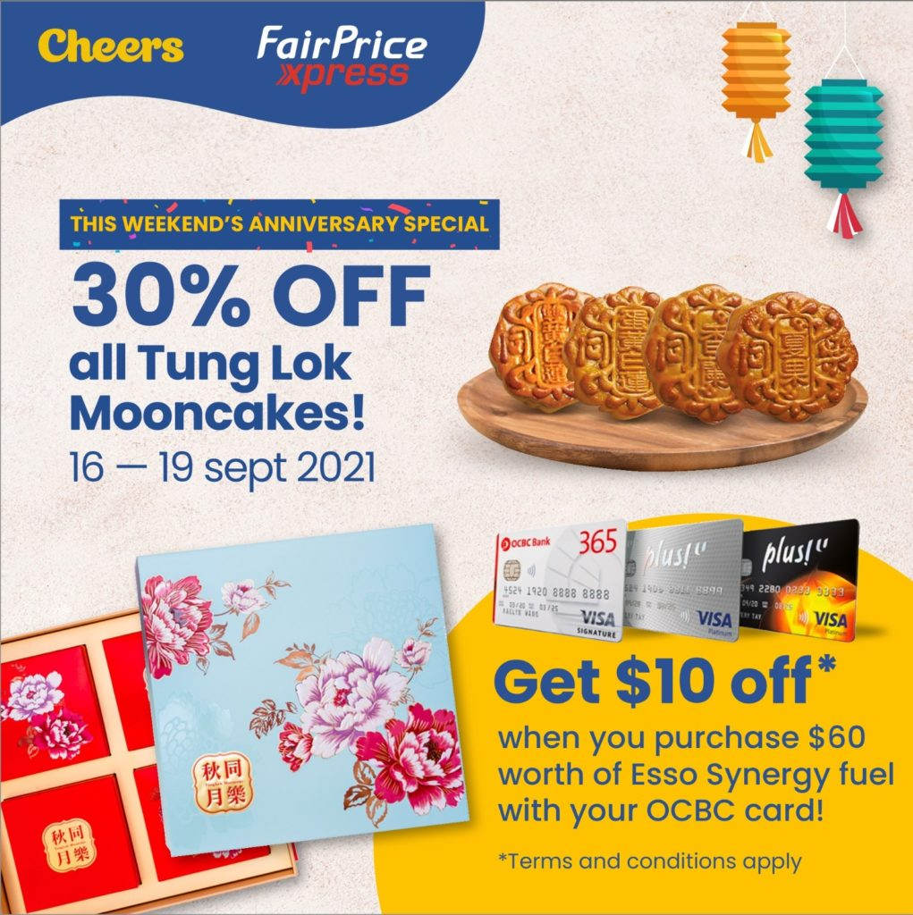 4 DAYS ONLY! Anniversary Special Mooncake Promotion at Cheers and FairPrice Xpress   Why Not Deals 1