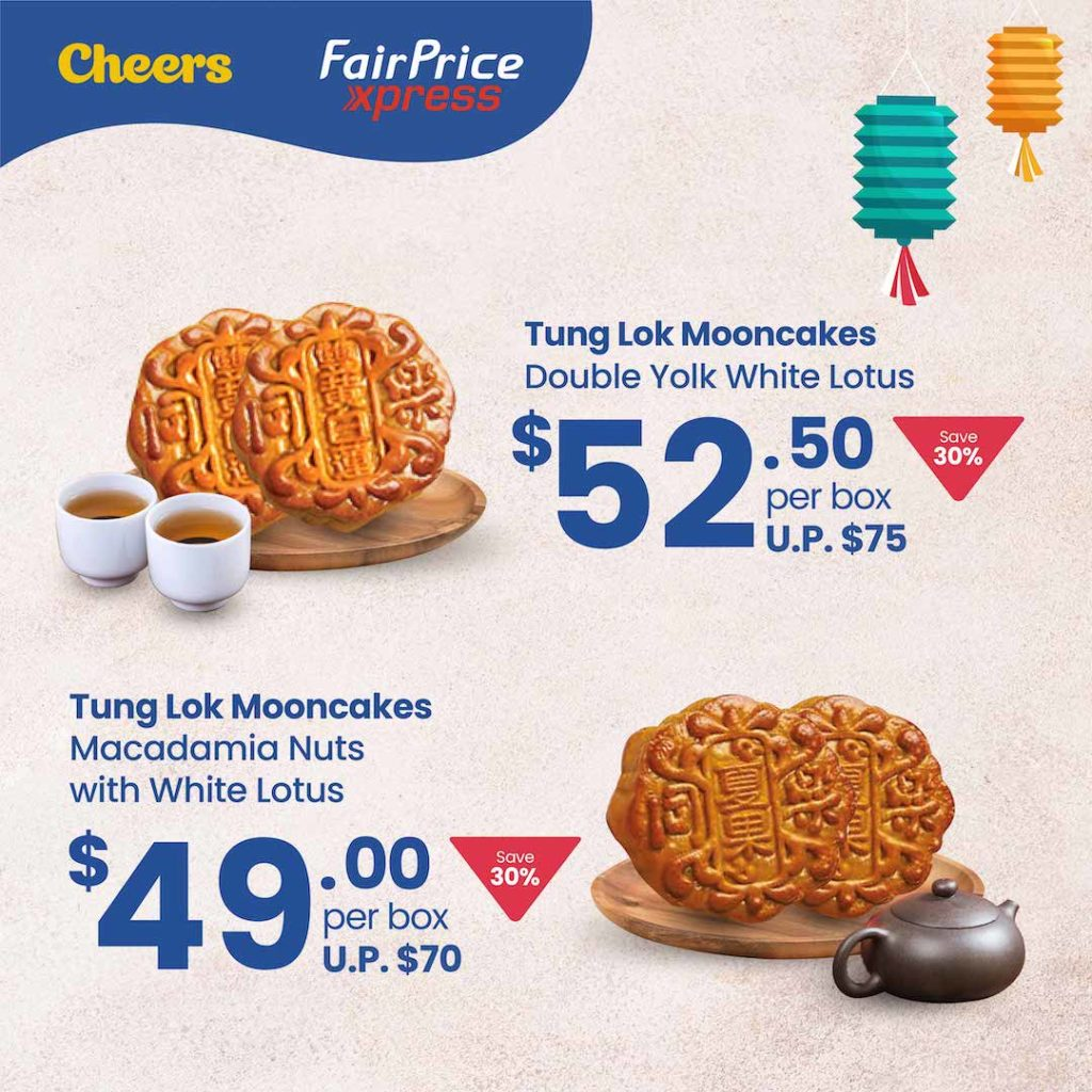4 DAYS ONLY! Anniversary Special Mooncake Promotion at Cheers and FairPrice Xpress   Why Not Deals 2