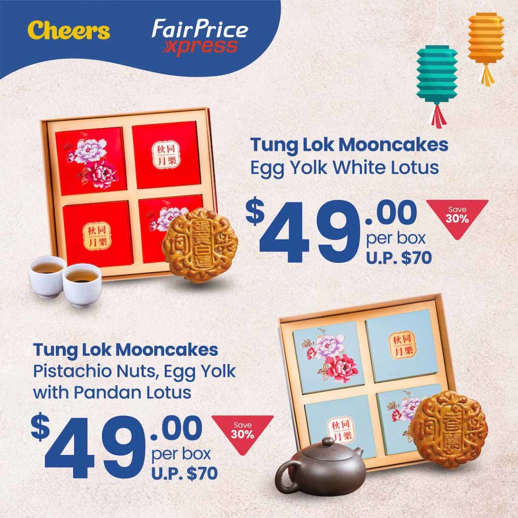 4 DAYS ONLY! Anniversary Special Mooncake Promotion at Cheers and FairPrice Xpress   Why Not Deals 3