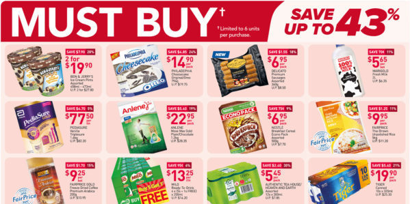 NTUC FairPrice Singapore Your Weekly Saver Promotions 16-22 Sep 2021