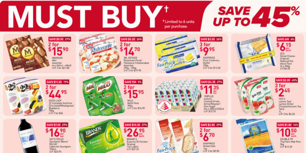NTUC FairPrice Singapore Your Weekly Saver Promotions 2-8 Sep 2021