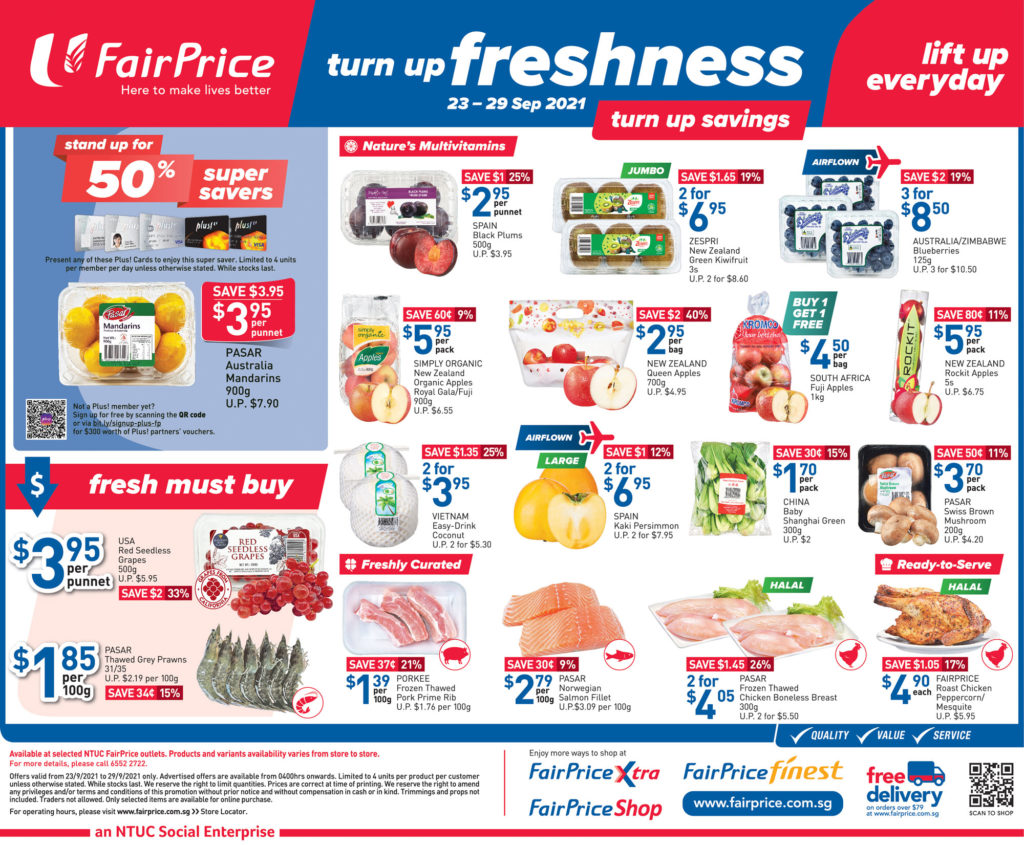NTUC FairPrice Singapore Your Weekly Saver Promotions 23-29 Sep 2021 | Why Not Deals 9