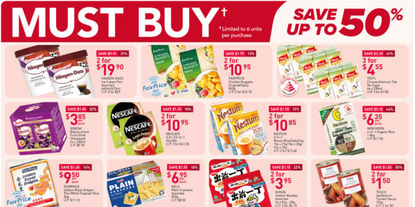 NTUC FairPrice Singapore Your Weekly Saver Promotions 23-29 Sep 2021
