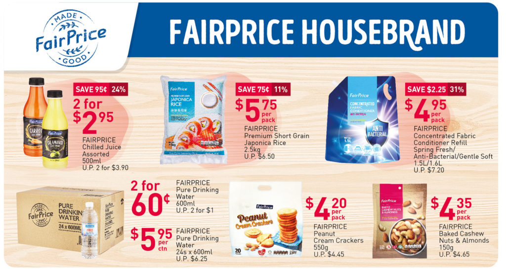 NTUC FairPrice Singapore Your Weekly Saver Promotions 23-29 Sep 2021 | Why Not Deals 2
