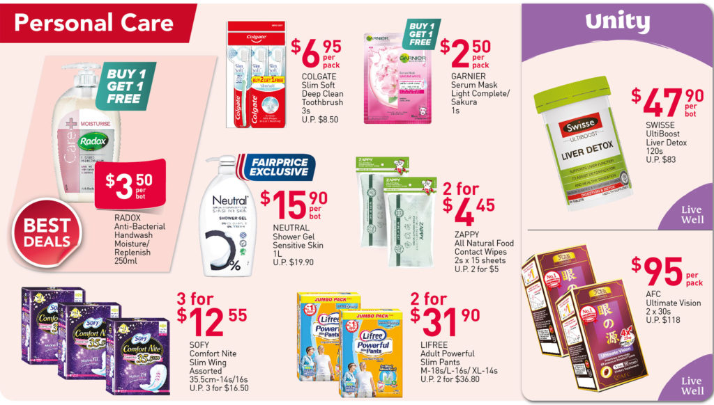 NTUC FairPrice Singapore Your Weekly Saver Promotions 23-29 Sep 2021 | Why Not Deals 7