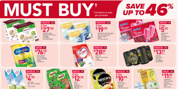 NTUC FairPrice Singapore Your Weekly Saver Promotions 9-15 Sep 2021