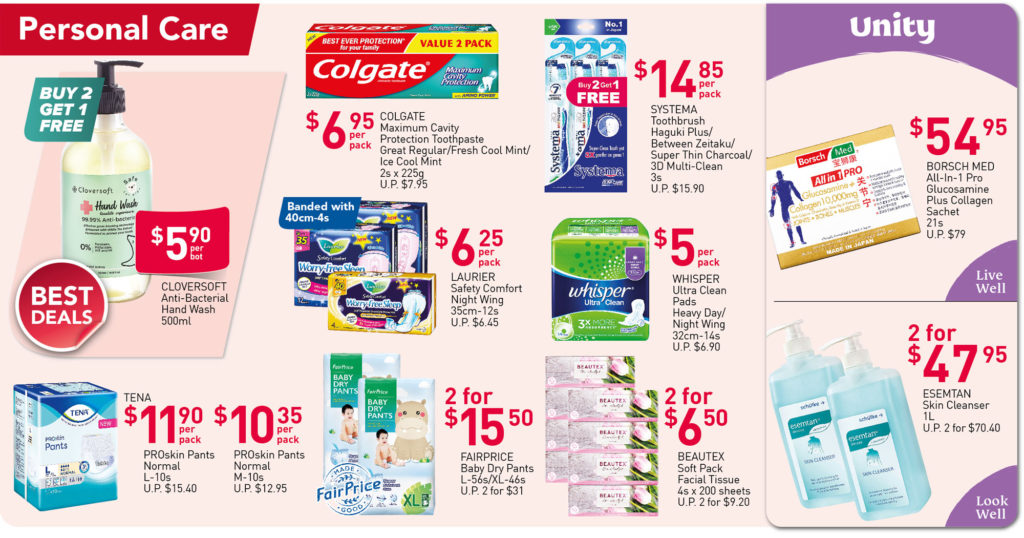 NTUC FairPrice Singapore Your Weekly Saver Promotions 9-15 Sep 2021 | Why Not Deals 7