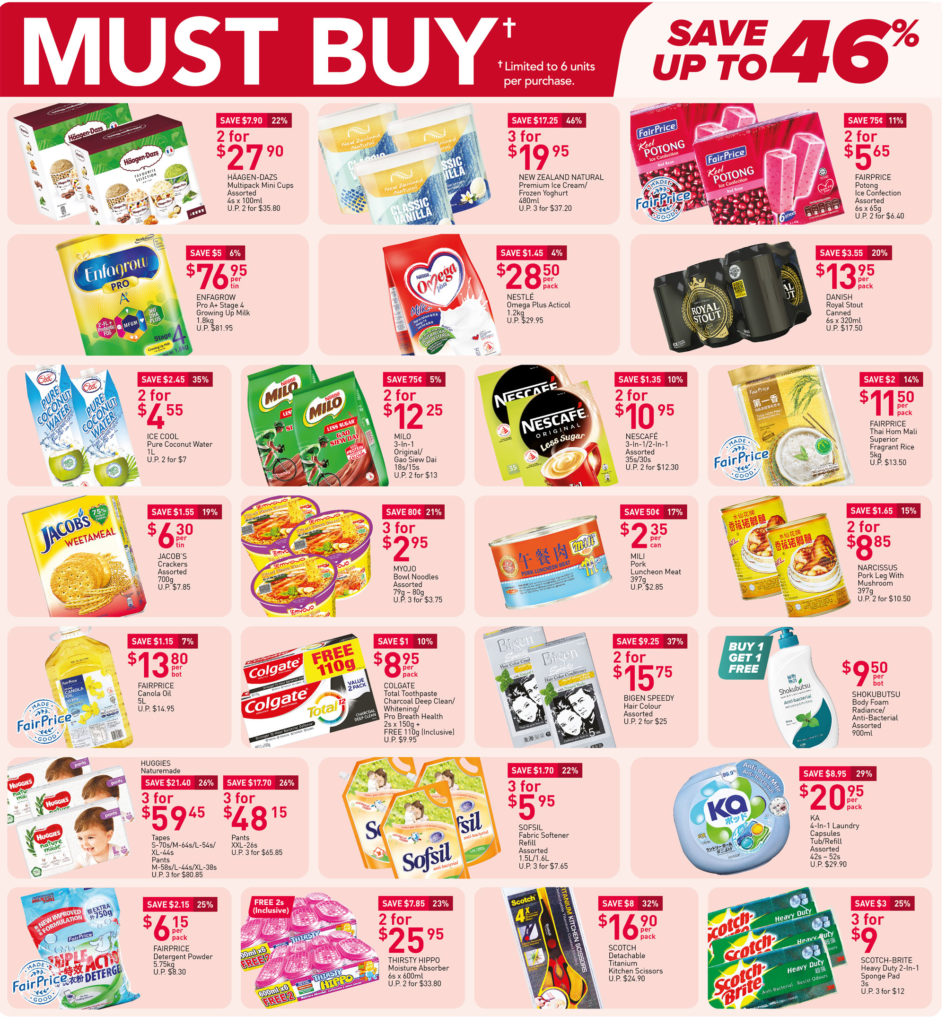 NTUC FairPrice Singapore Your Weekly Saver Promotions 9-15 Sep 2021 | Why Not Deals