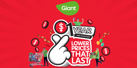A Giant Promise To Keeping Lower Prices That Last Even As Inflation Goes Up!